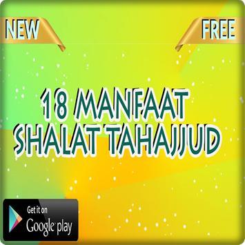 18 Manfaat Shalat Tahajjud poster