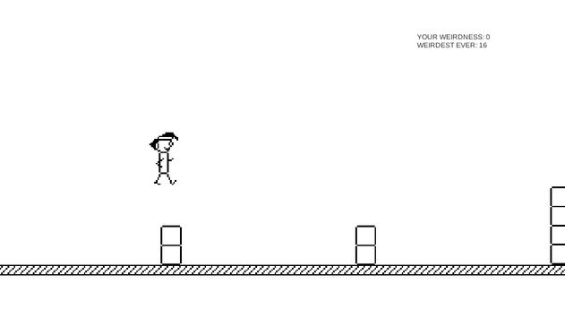 2D Platformer Weird Man screenshot 1