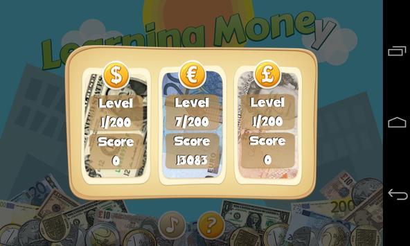 Kids Learning Money Lite screenshot 1