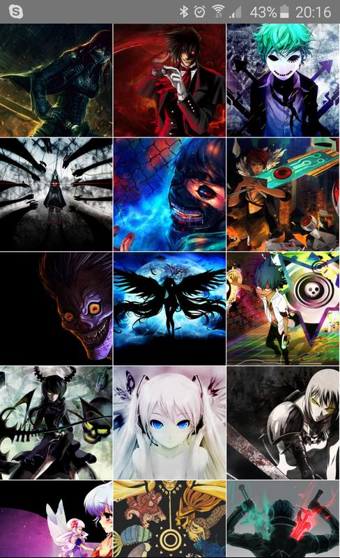 Cool Anime Manga Wallpaper Apk Screenshot