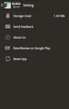 Manga Meow - Manga Reader App apk screenshot