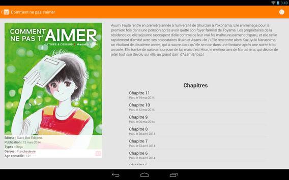 Manga-News Reader screenshot 1