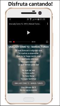 Una lady como tu - Manuel Turizo Música apk screenshot