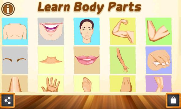 Learning Body Parts for Toddlers - Kara Carrero