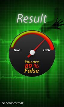 Lie Detector Polygraph Prank apk screenshot