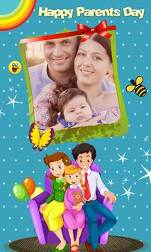 Happy Parents Day Photo Frames poster
