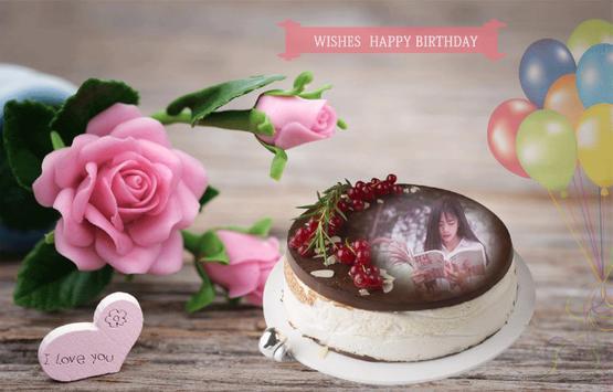 Name photo on birthday cake screenshot 9