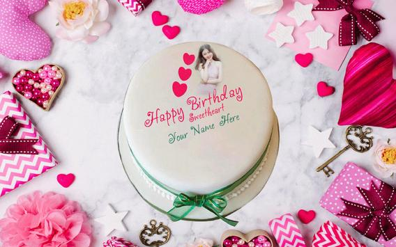 Name photo on birthday cake screenshot 18