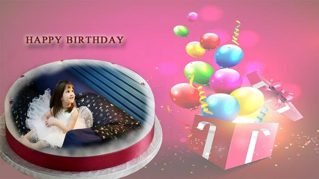 Name photo on birthday cake screenshot 1