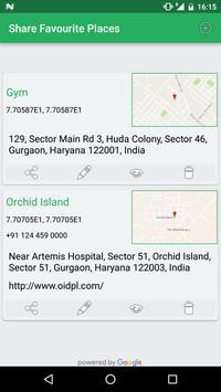 Share GPS Location screenshot 1