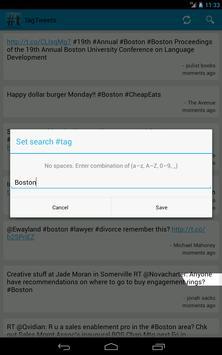 Tag Tweets apk screenshot