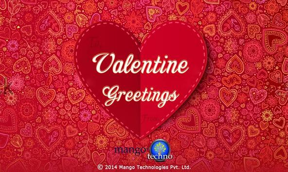 Valentine Greetings poster