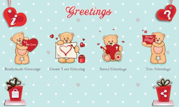 Valentine Greetings apk screenshot