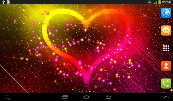 Heart Live Wallpaper screenshot 4