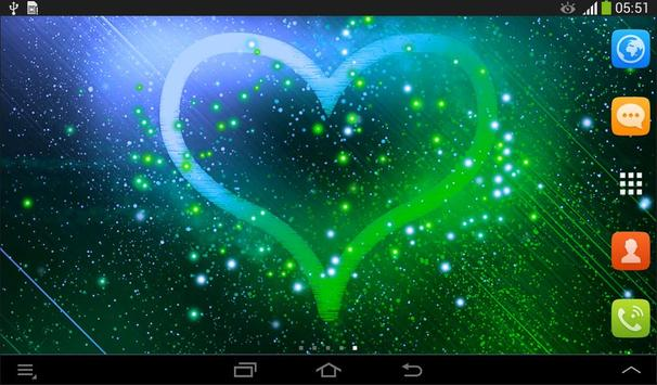 Heart Live Wallpaper screenshot 9