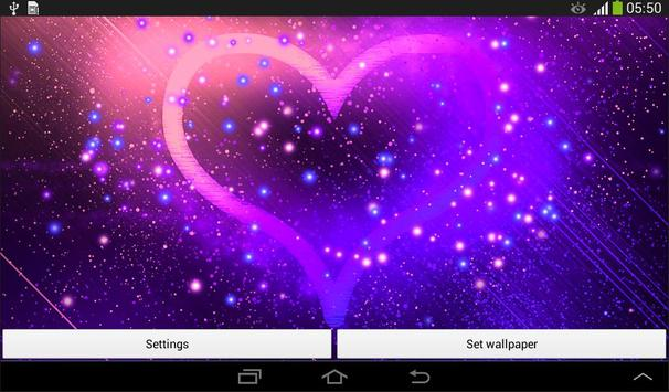 Heart Live Wallpaper apk screenshot