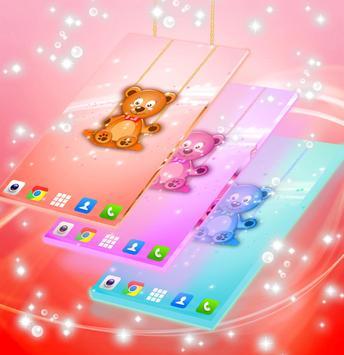 Live Wallpaper Teddy Bear poster