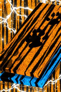 Tiger Stripes Live Wallpaper screenshot 3