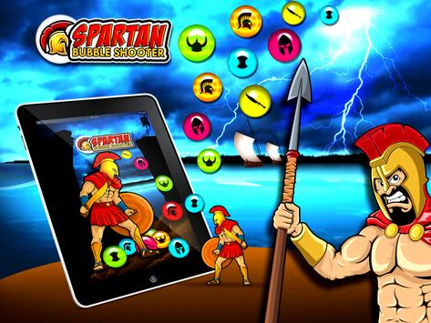 Spartans Bubble Shooter poster