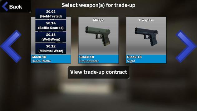 Contract Trade up screenshot 1
