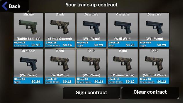 Contract Trade up screenshot 2