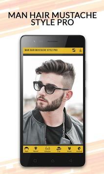 Man Hair Mustache Style Pro poster