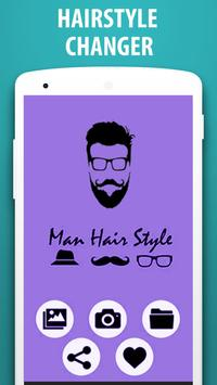 Man Hair Mustache Style apk screenshot
