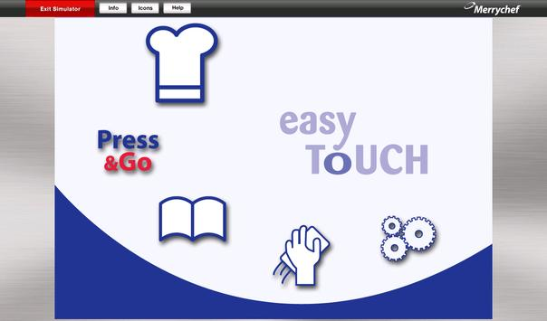 Merrychef® easyTouch™ poster