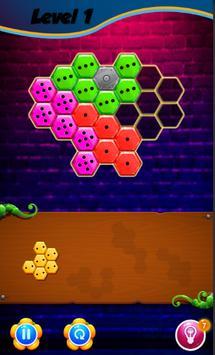 Domino Hexa Puzzle Mania screenshot 3