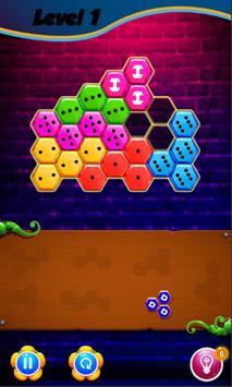 Domino Hexa Puzzle Mania screenshot 4