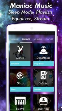 New Music Manioc - Unlimited Music & Mp3 Player apk screenshot