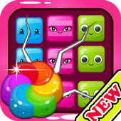 Candy Match 3 Glass For KIDS icon