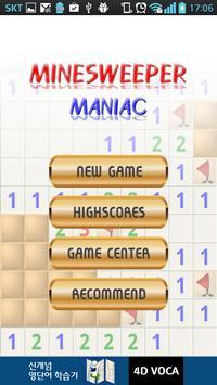 Minesweeper Maniac poster