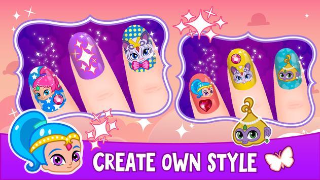 Shine manicure poster