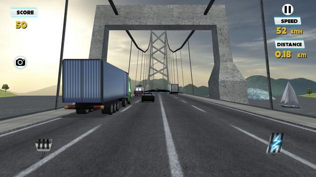 Truck Simulator Traffic Racer poster