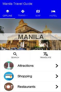 Manila Travel Guide poster