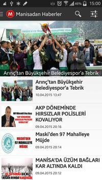 Manisadan Haberler poster