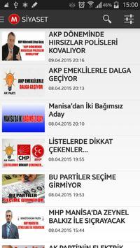 Manisadan Haberler screenshot 3