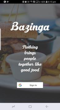 Bazinga poster