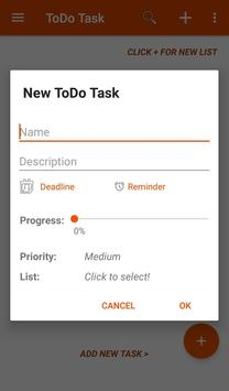 ToDo Task screenshot 1