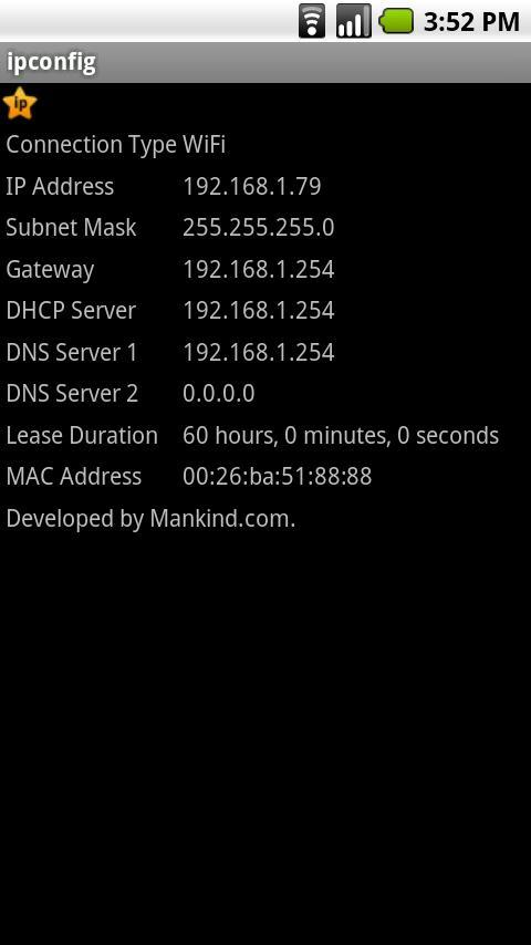 ipconfig for Android - APK Download