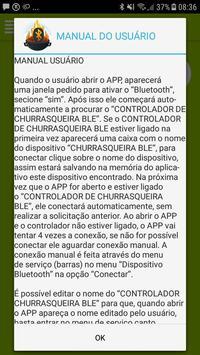 Churrasqueira BLE screenshot 4