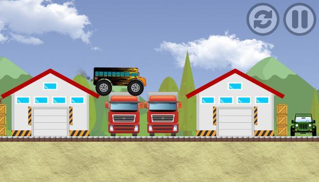 MonsterBus Racing apk screenshot