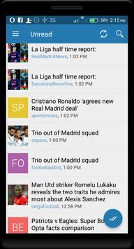 La Liga news screenshot 2