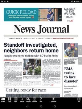 Mansfield News Journal Print screenshot 2