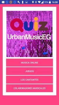 Quiz UrbanMusicEG poster