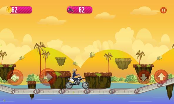 لعبة منصور:Mansour motorbikes crazy adventures apk screenshot