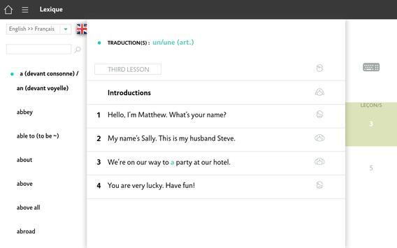 Apprendre l'Anglais avec Assimil screenshot 13