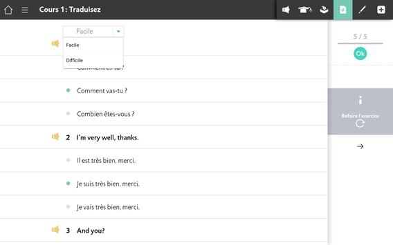 Apprendre l'Anglais avec Assimil screenshot 11