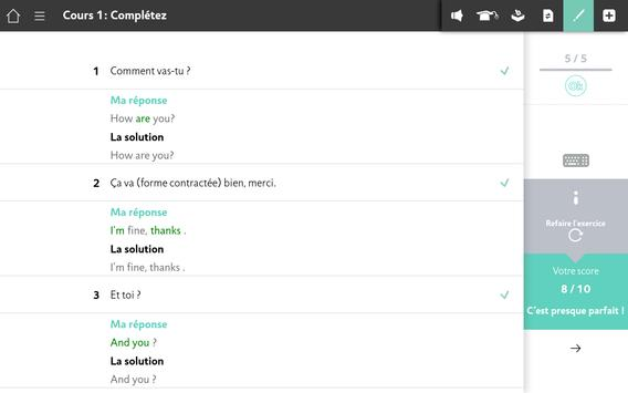 Apprendre l'Anglais avec Assimil screenshot 12